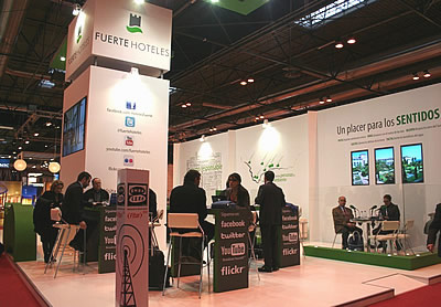 Fuerte Hoteles company in FITUR